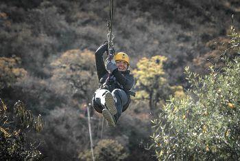 101 Screen Free Gifts for Teens - Ziplining