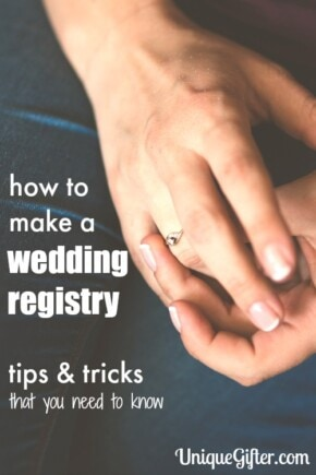I would NEVER have thought of these wedding registry tips and tricks. They are also so easy to set up, I had no idea!