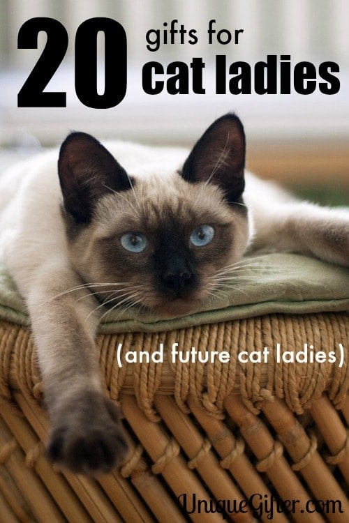 As a well known cat lady, I can tell you that any crazy cat lover will enjoy these gifts.