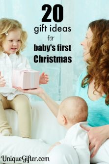 Awe, there's nothing like a first ever Christmas. I love these gift ideas for baby's first Christmas.