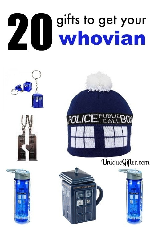 20 Gifts to get Your Whovian