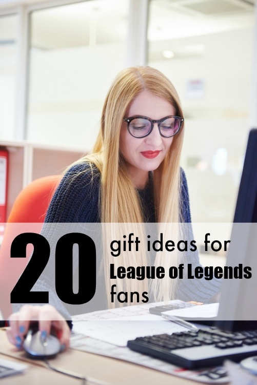 I never know what to get gamers! 20 Gift ideas for League of Legends fans will solve that problem for me.