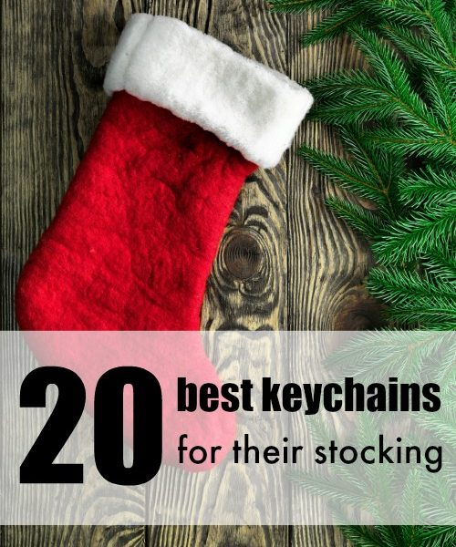 20 Best Keychains for their Stocking