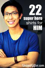 22 Superhero Shirts for Him