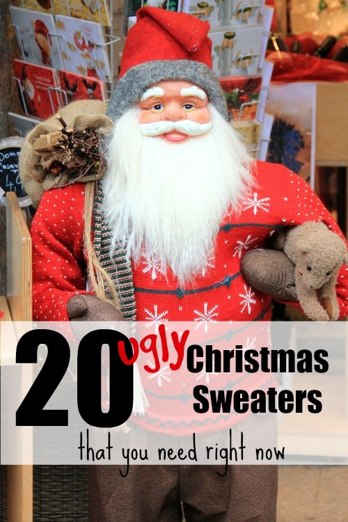 20 Ugly Sweaters You Need Right Now