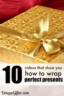10 Videos That Show You How to Wrap Perfect Presents