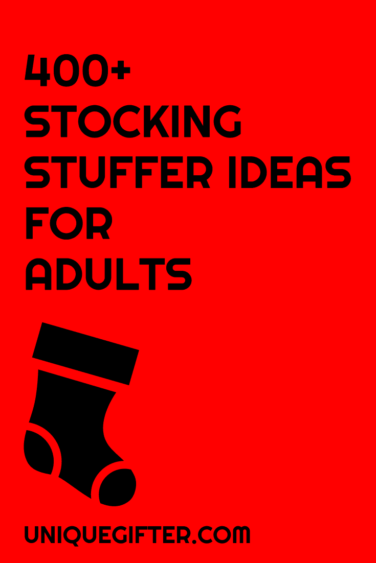 400 stocking stuffer ideas for adults unique gifter Unique stocking stuffers adults