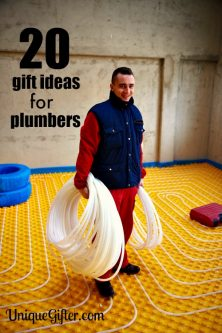 20 Gift Ideas for Plumbers