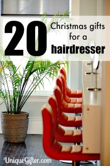 I love my stylist to death! I am totally going to be buying a Christmas gift for my hairdresser this year. These ideas are great.