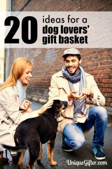 20 Ideas for the Dog Lovers' Gift Basket
