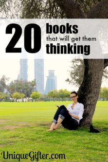 22  Books to Get Them Thinking