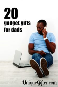 Father's Day will be awesome with these gadget gift ideas for dads. There's a bunch of fun ones on this list.