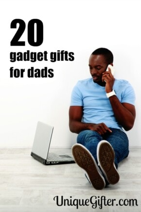 Gadget Gifts For Dads | Dad Gifts | Gadget Dad Gifts | Gadgets Dad Will Love | Gadget Gifts Dad Will Get Excited Over #gifts #giftguide #gadgets #dad #creative #uniquegifter