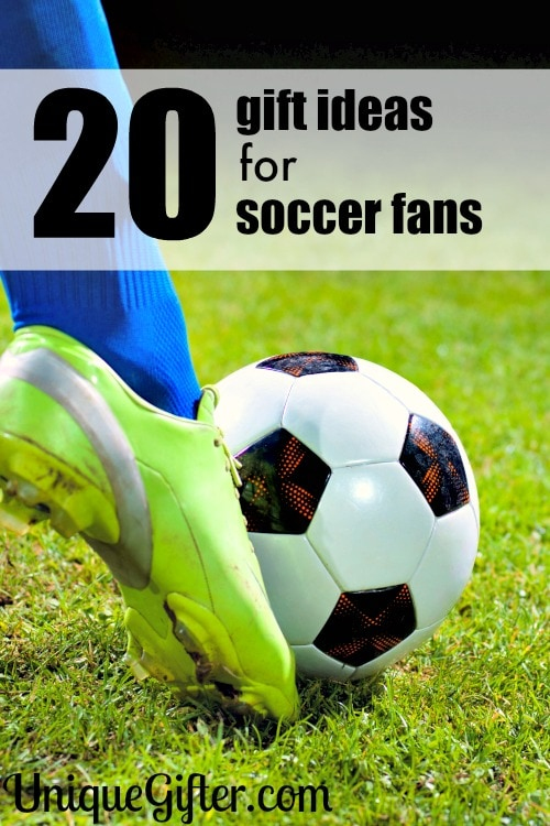 Goal! My son will love these gift ideas for soccer fans. He can never have enough team gear it seems. His birthday present is covered!