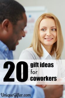 20 Gift Ideas for Coworkers