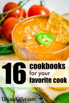 16 Cookbooks for Your Favorite Cook