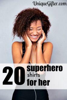 20 Superhero Shirts for Her