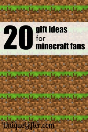 My son will love these gift ideas for minecraft fans. He is obsessed with the game.