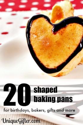 20 Super Fun Shaped Baking Pan Gift Ideas