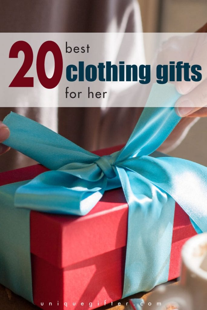 20 best clothing gifts for women - some great ideas in here for Christmas!