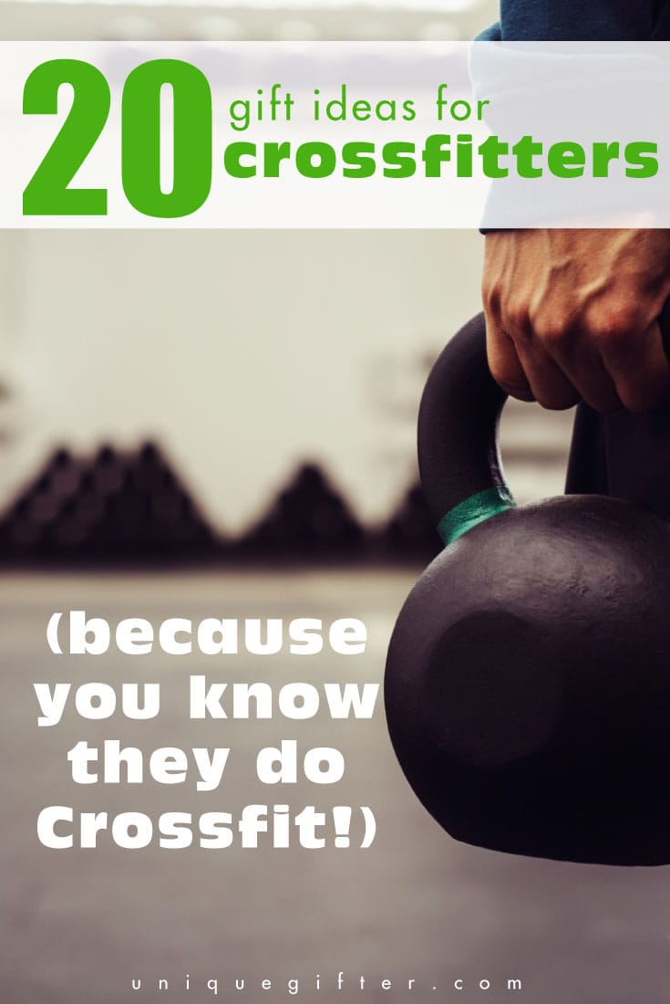 Gift Ideas For Crossfitters | Crossfit Gifts | Gifts For Athletes | Workout Gifts | Crossfit Presents | Gifts For People Who Workout | #gifts #giftguide #presents #uniquegifter #crossfit #athlete