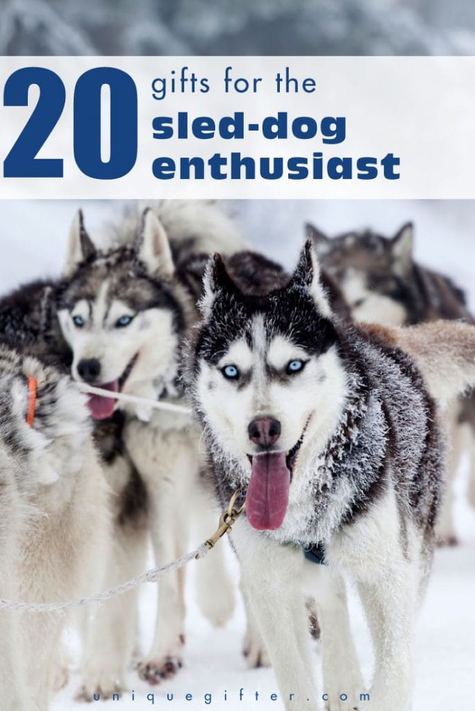 Need a birthday gift idea for a musher? Take a look at this epic list of gifts for the sled dog enthusiast and consider your Christmas shopping done!