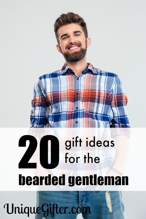 My boyfriend has a beard and would love these beard friendly gift ideas.
