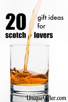 Single malt on the rocks? That's what my husband loves. Here are 20 gift ideas for scotch lovers, aka Christmas presents for my husband.
