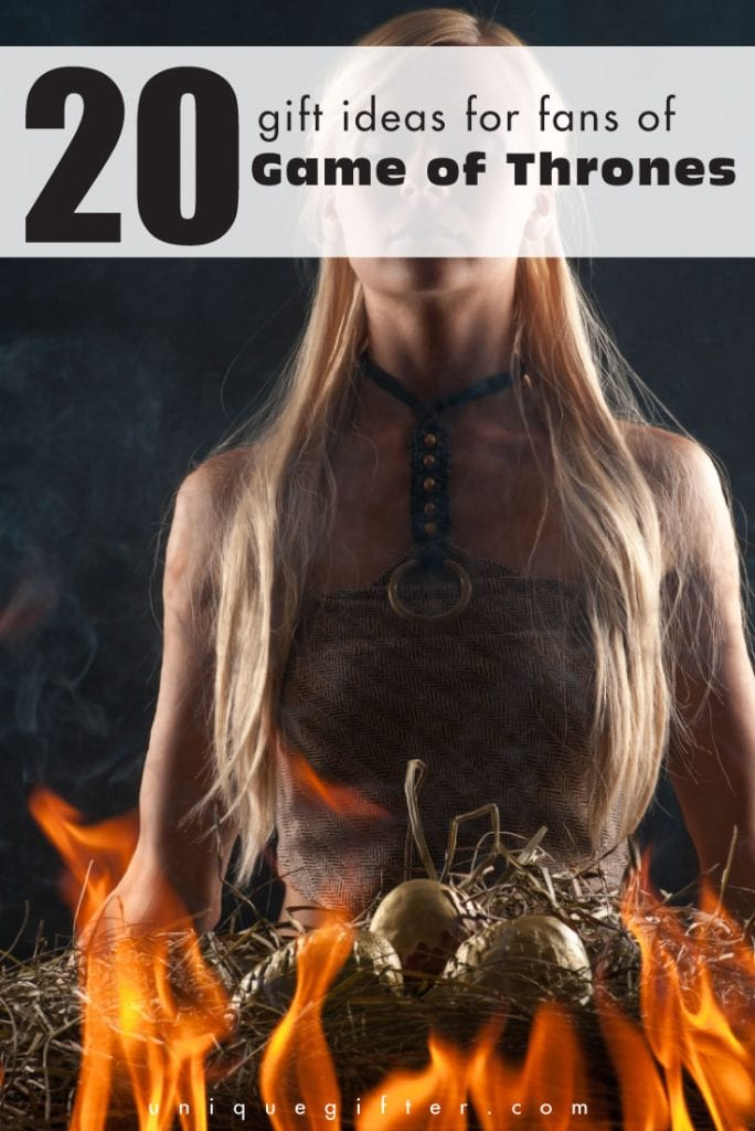 20 Gift Ideas for Fans of Games of Thrones