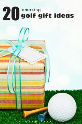 I love these #golf #gift ideas! Consider my next birthday present solved.