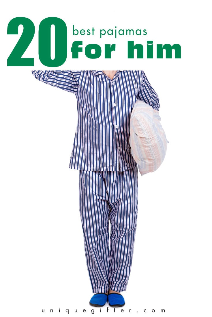 Looking for the best pajamas for him, for those times you want to open Christmas presents with the family, or visit the in-laws? Check these out!
