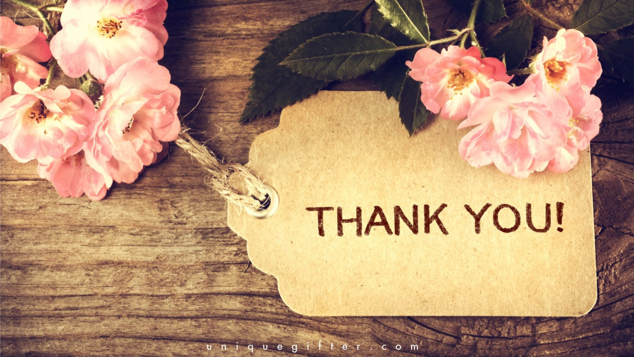20 Cute Thank You Cards Unique Gifter