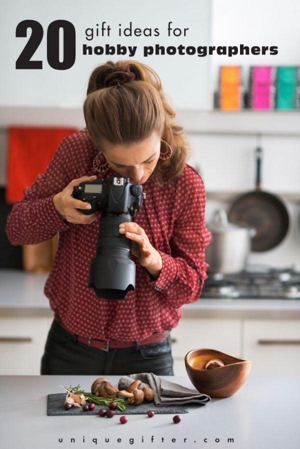 20 Gift Ideas for Hobby Photographers
