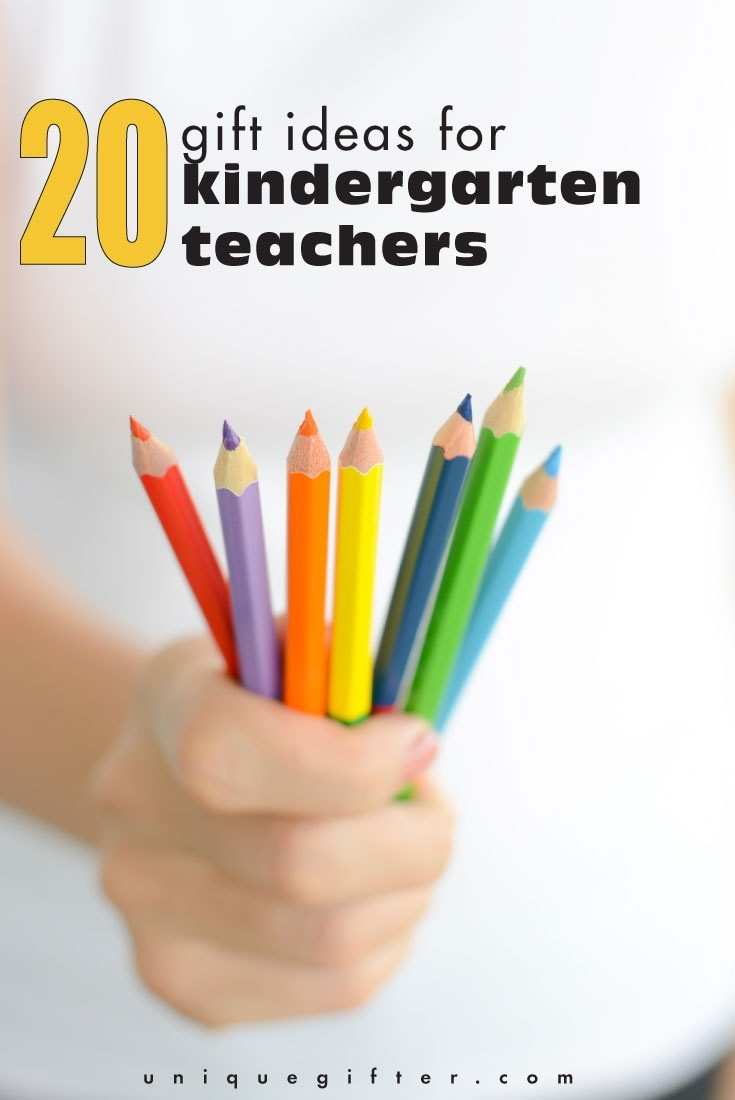 20 Gift Ideas for Kindergarten Teachers