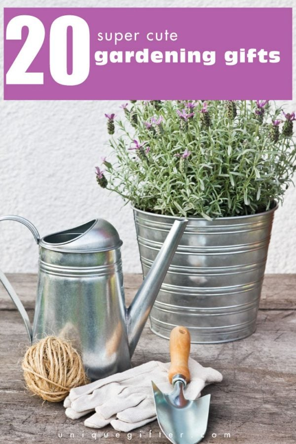 20 Super-Cute Gardening Gifts - Unique Gifter