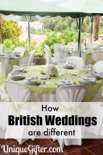 How British Weddings are Different