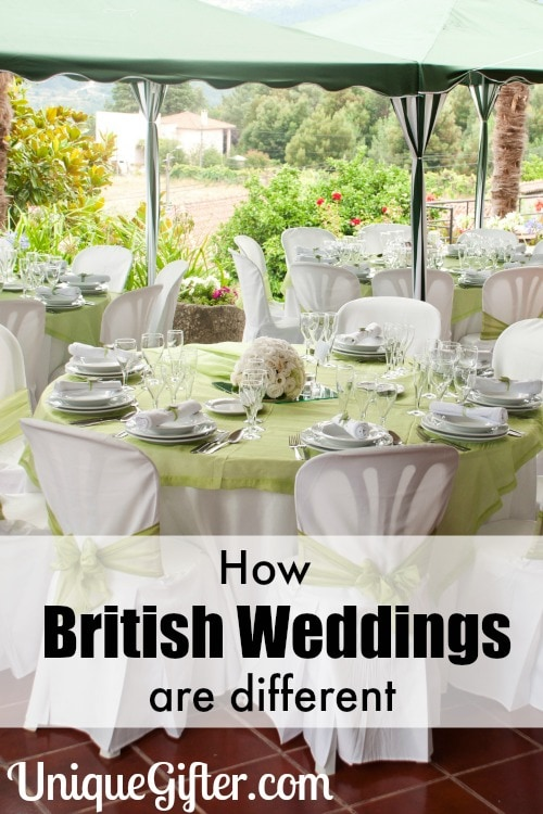 Have you ever been curious? Here is how British weddings are different!
