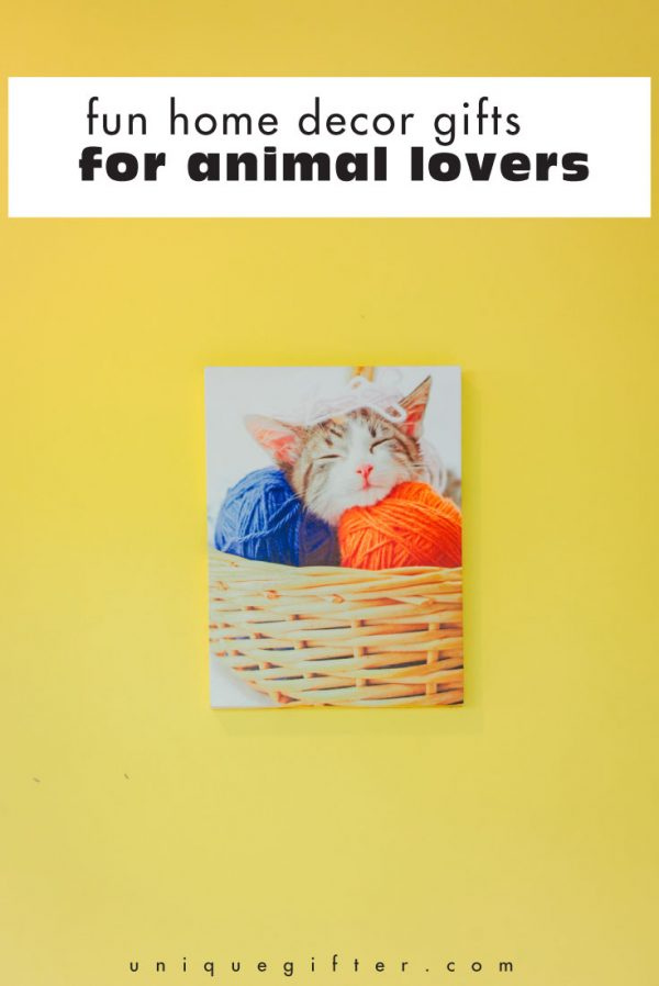 Fun Home Decor Gifts for Animal Lovers