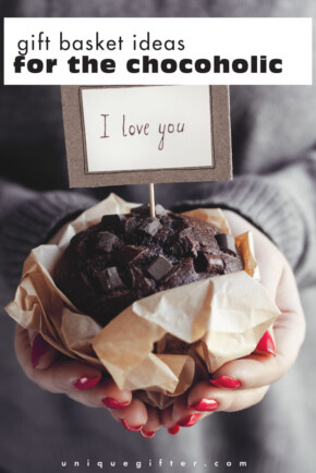 Mmmmmmmmmmmmmmm chocolate. Can someone hook me up with these gift basket ideas? Please? For my birthday? Or Christmas?