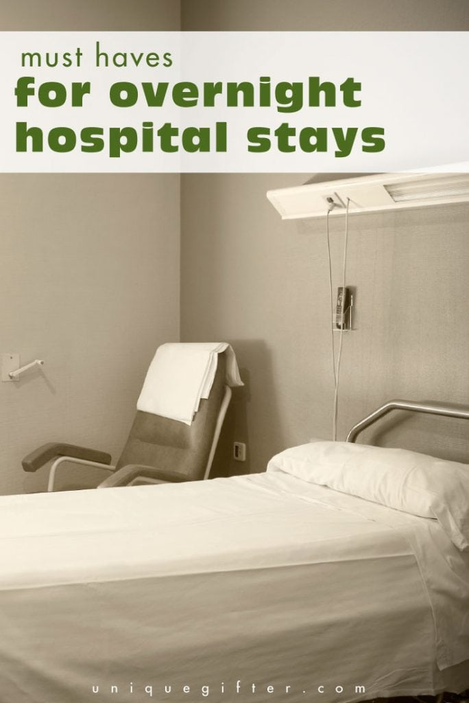 Pack or bring these must-haves for overnight hospital stays to make your life way, way better!
