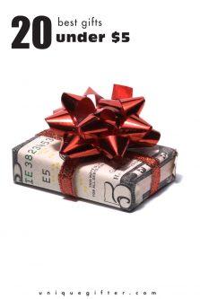 20 Best Gifts Under $5