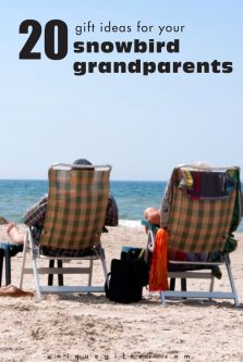 20 Gift Ideas for Your Snowbird Grandparents