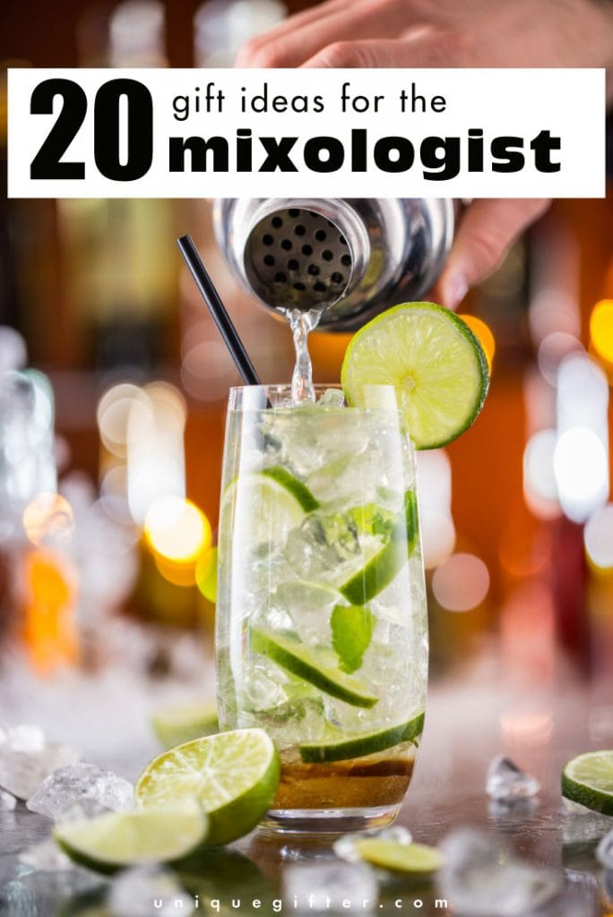 20 Gifts for a Mixologist