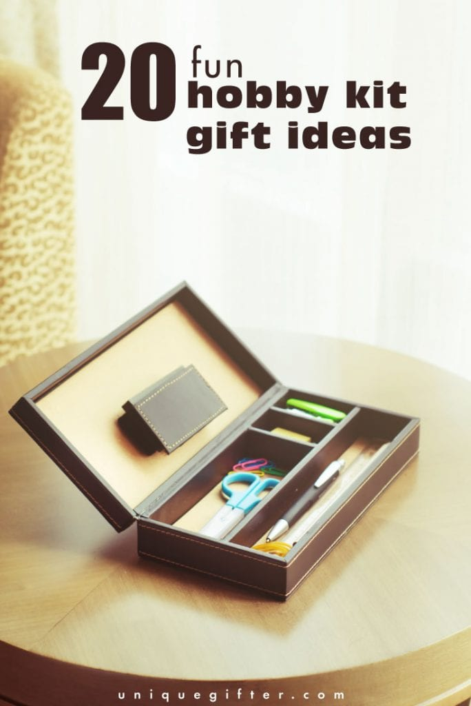 I love these hobby kit gift ideas! They are perfect for the crafty people in my life. It seems like everyone is into DIY, crafts and fun projects all the time, but it's so hard to know what an artistic person might like. I also love these as teenager gifts because they're self-contained, so they don't have to have a million other art supplies already in order to enjoy them.