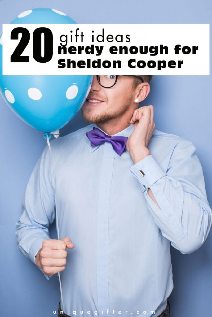 I love these gift ideas that are nerdy enough for Sheldon Cooper. They'll make perfect birthday gifts for my uncle who loves Big Bang Theory!