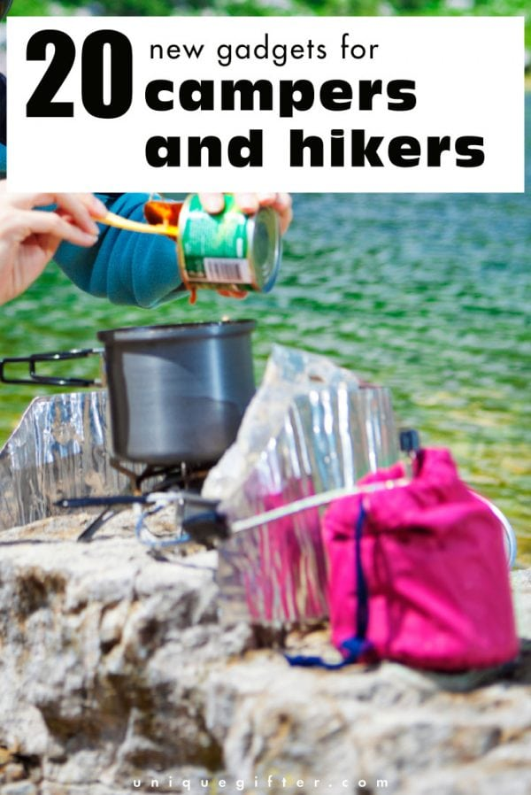 20 New Gadgets for Campers and Hikers