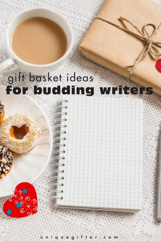 Gift Basket Ideas: Budding Writers