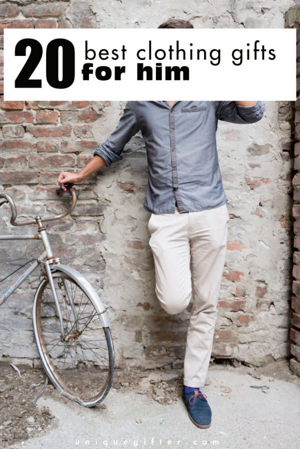 8688b23eec154 20 Best Clothing Gifts for Him - Unique Gifter