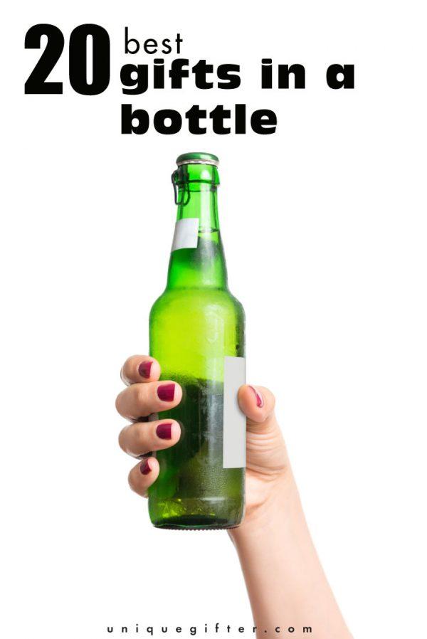 20 best gifts in a bottle
