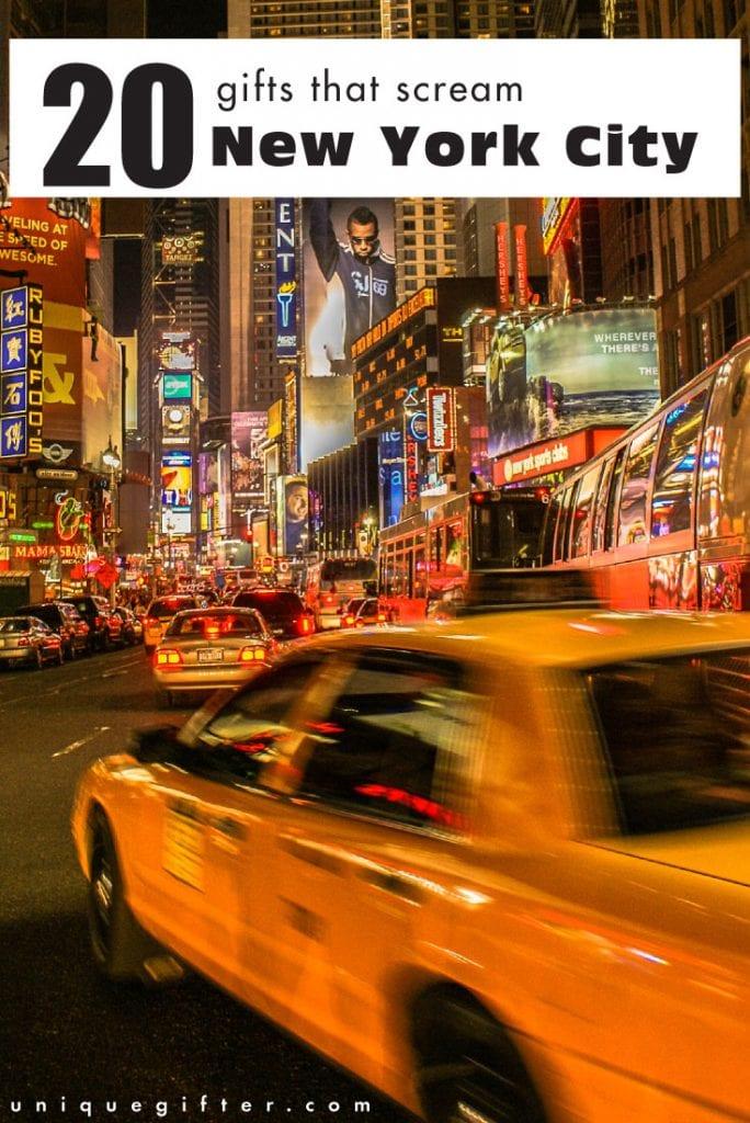 20 Gifts that Scream New York